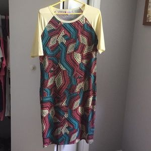 ***NWOT*** Large Lularoe Julia Dress